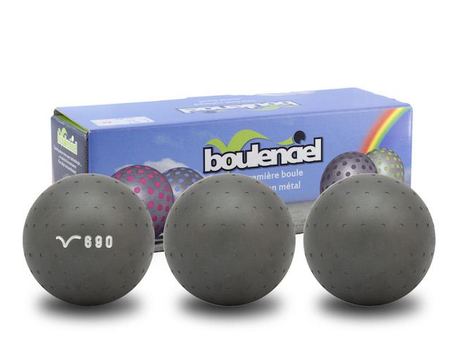 Boules de petanque boulenciel mars carbone demi tendre 120 for Boule de petanque tres tendre