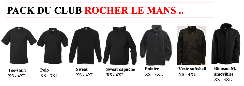 Pack club Rocher le Mans