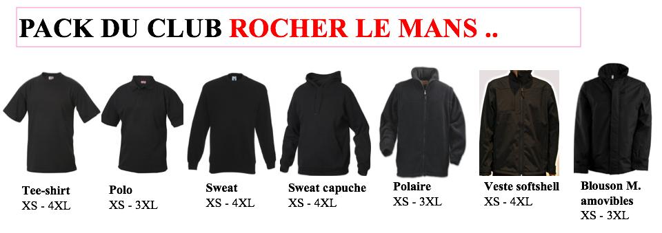 Pack club Rocher le Mans