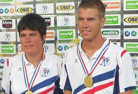 Dylan Rocher & Christine Saunier : Champion de France 2012